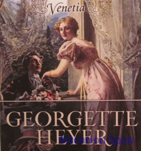 Cover of Georgette Heyer's novel Venetia