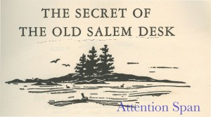 title page of The Secret of the Old Salem Desk